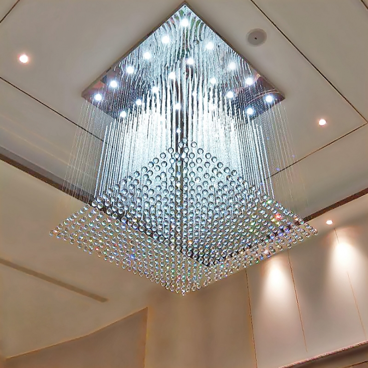 阐述酒店工程灯具应该如何挑选和保养