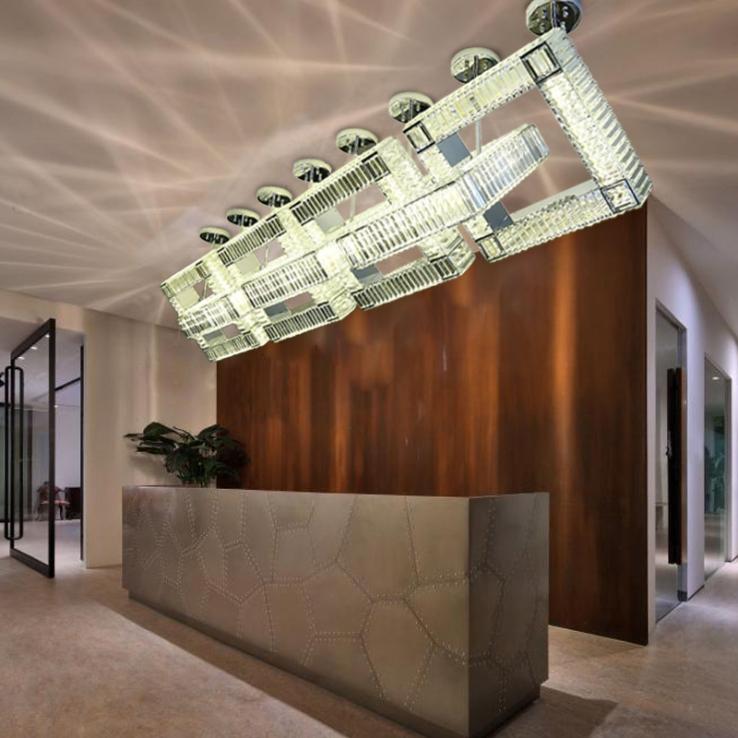 终端客户比较偏好于简约简单的酒店工程灯具风格