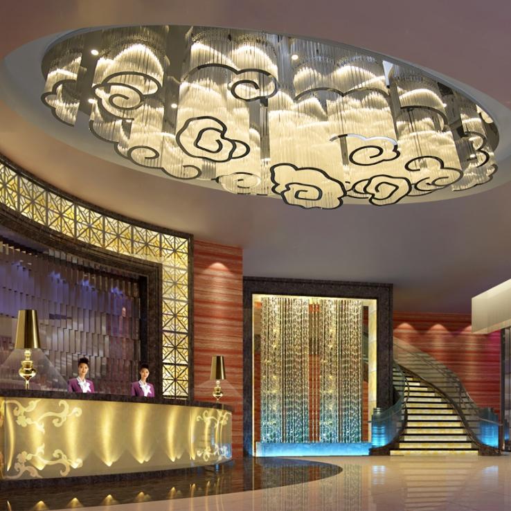 灯具定制厂家酒店工程灯具的寻找就需要有针对性的进行选择