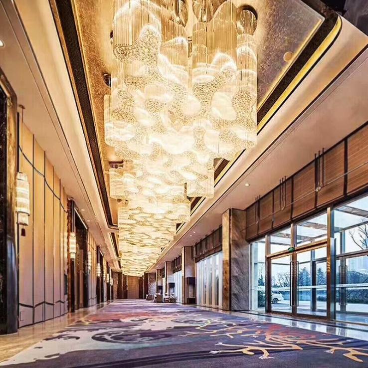 选择酒店工程灯具的特质与需求需要考虑这几方面