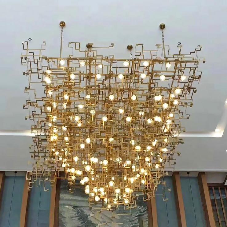 为何说酒店工程灯具更大程度上可以体现其生活品味与品质