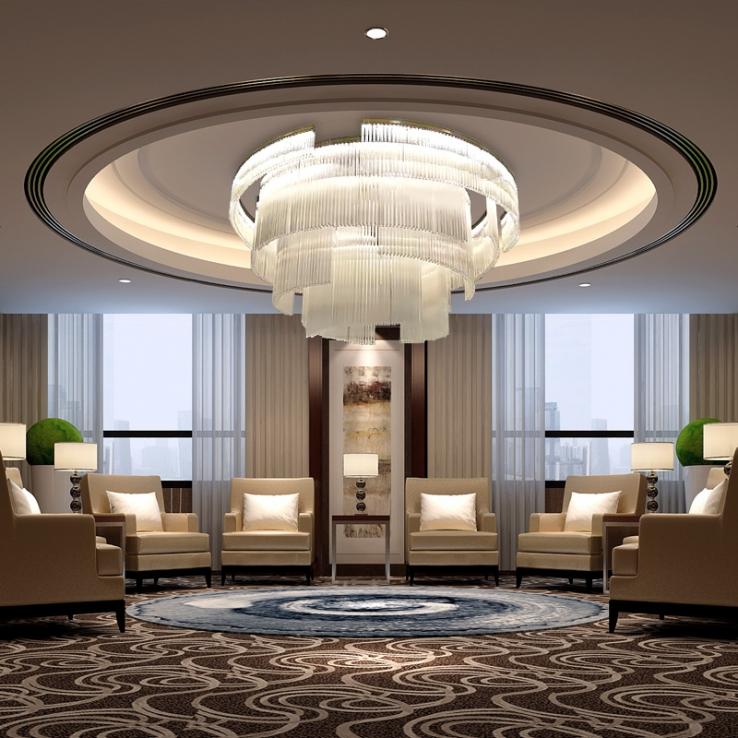 浅析酒店工程灯具包括功能性照明与艺术性照明两部分