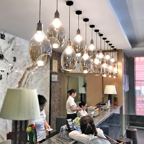 酒店工程灯具符合现代人的生活理念