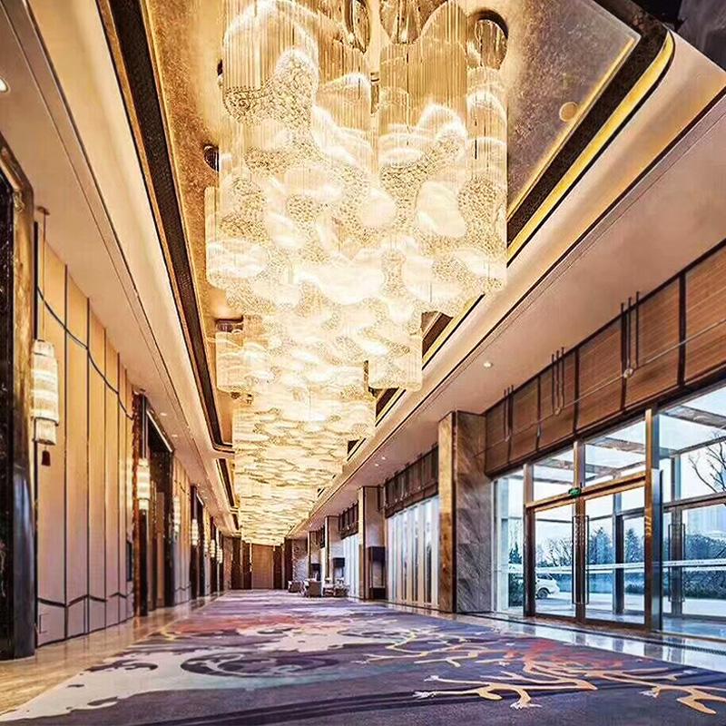 重庆酒店灯饰工程