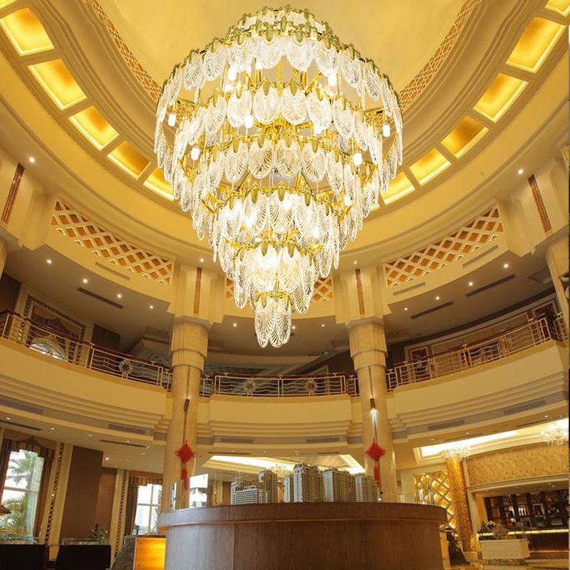 河南宾馆大厅灯饰