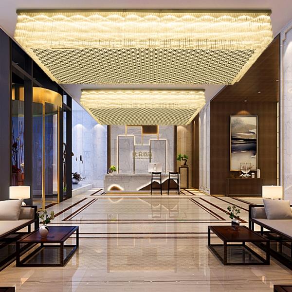 酒店灯具吊灯